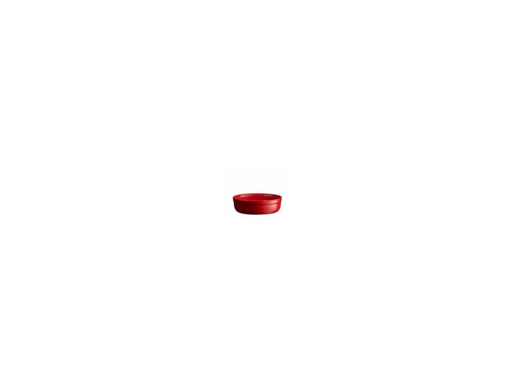 Emile Henry miska na Creme Brulee granátová barva