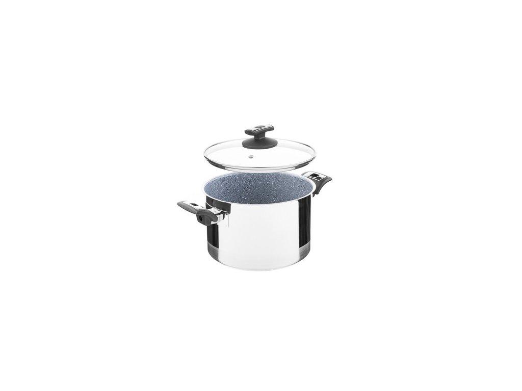 KOLIMAX CERAMMAX PRO COMFORT hrnec s poklicí 22cm 5,5l, granit šedá