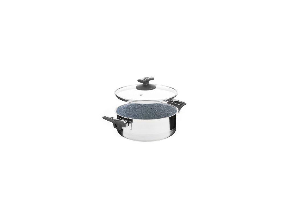 KOLIMAX CERAMMAX PRO COMFORT rendlík s poklicí 22cm 3,0l, granit šedá