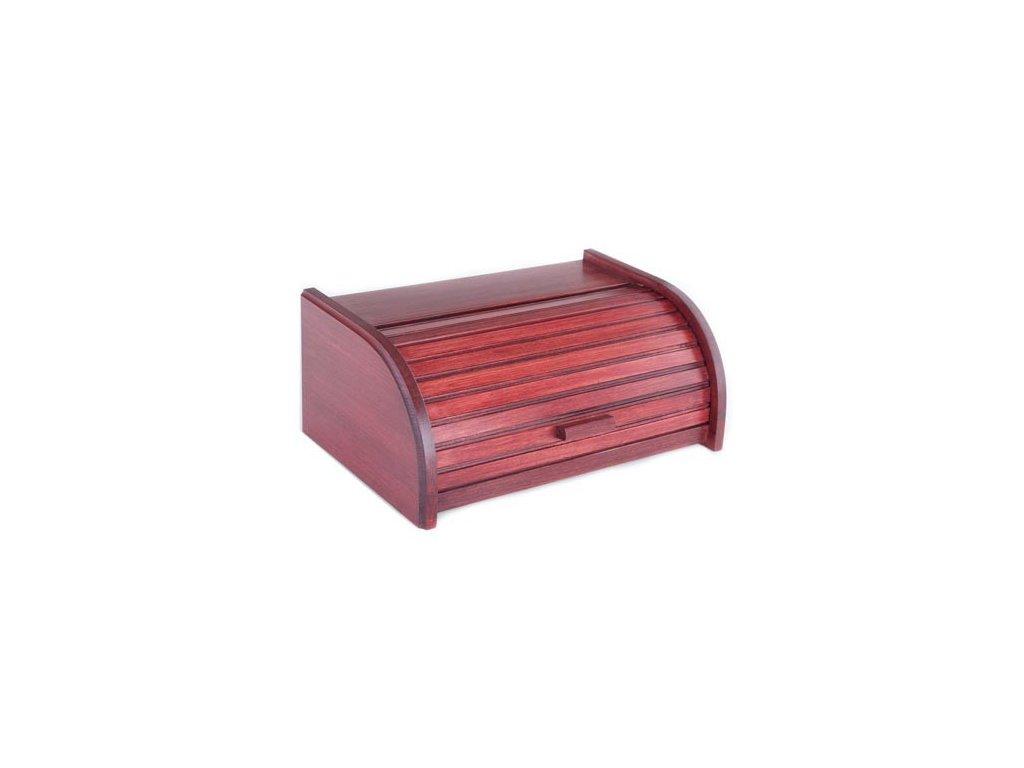 KOLIMAX Dřevěné výrobky box na pečivo 42 cm buk, barva třešeň