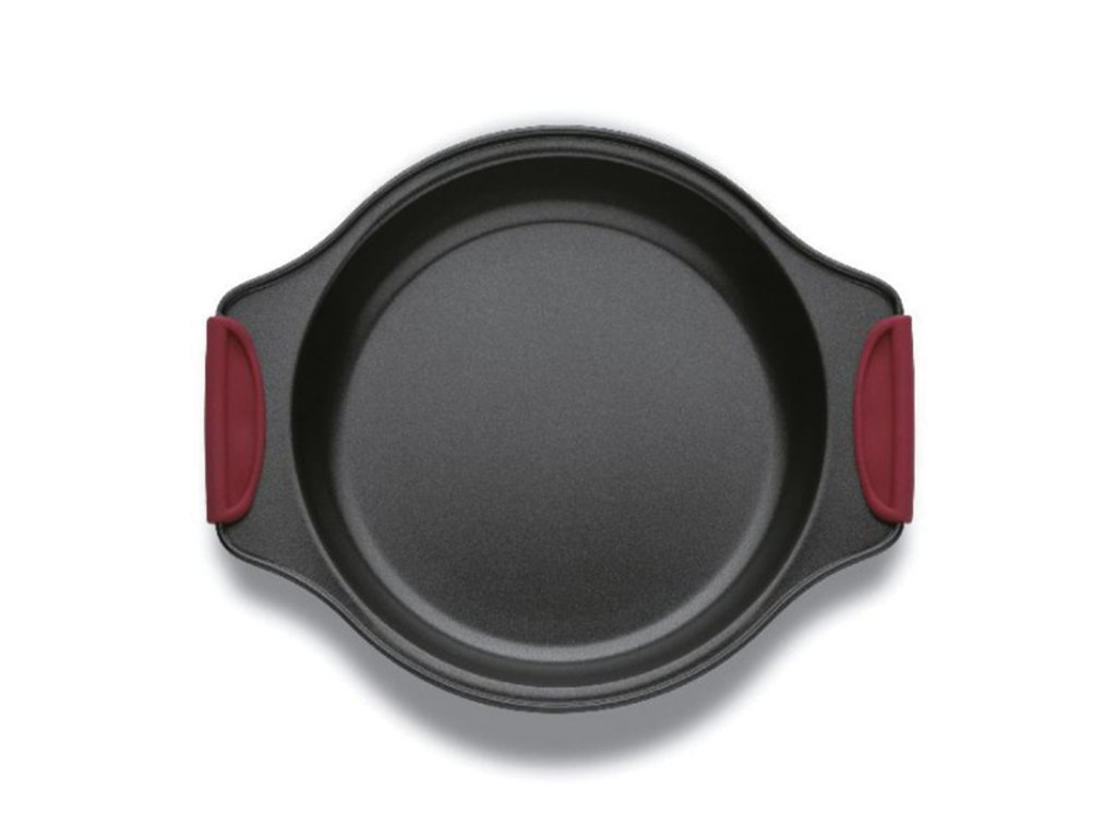 Forma na koláč se silikonovými rukojeťmi 21 cm
