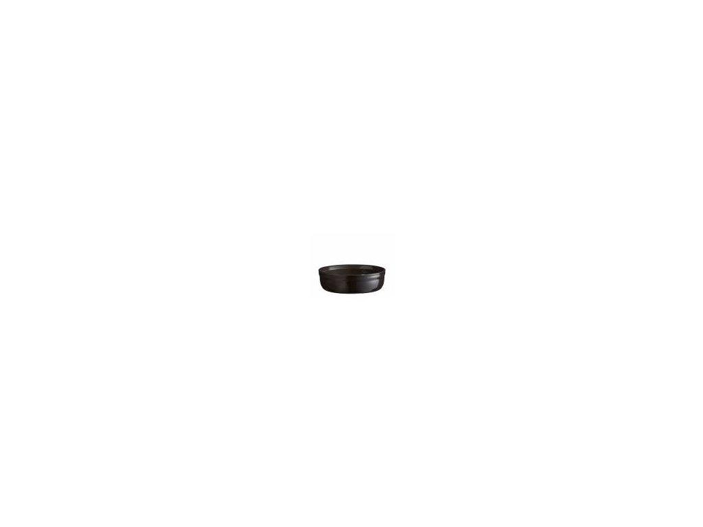 Emile Henry miska na Creme Brulee pepřová barva