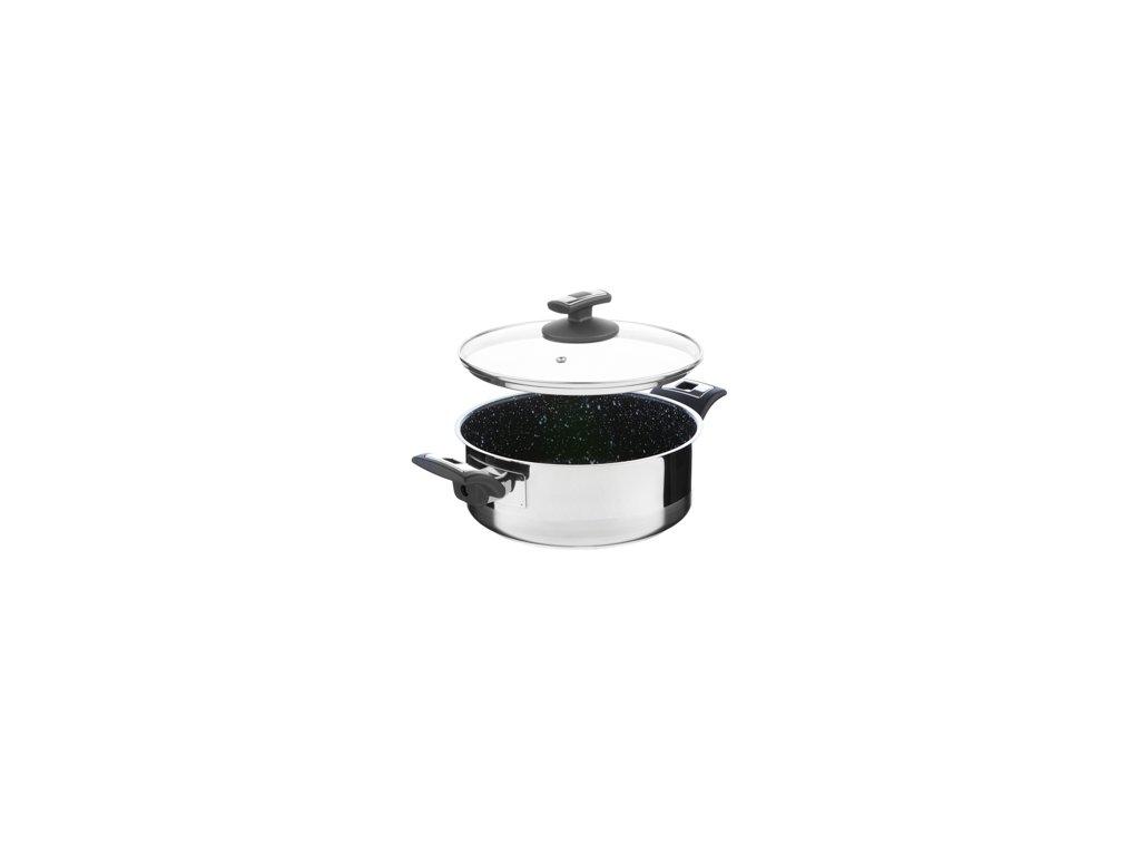 KOLIMAX CERAMMAX PRO COMFORT rendlík s poklicí 22cm 3,0l, granit černá