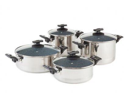 KOLIMAX CERAMMAX PRO COMFORT sada nádobí 8 dílů, granit šedá
