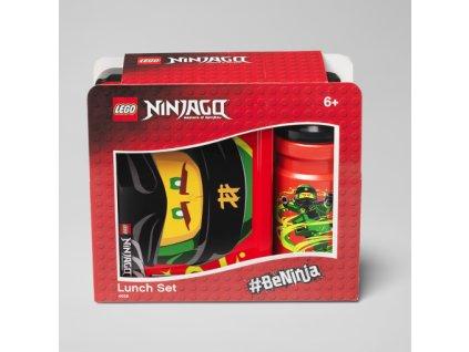 LEGO NINJAGO Boy Svačinový set (láhev a box)
