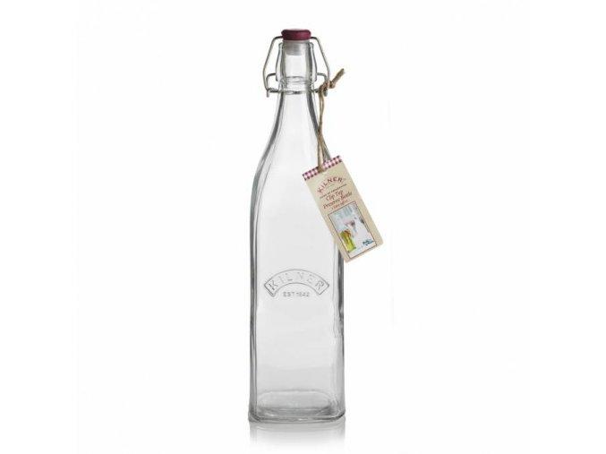 Skleněná láhev s klipem 1,0 l KILNER