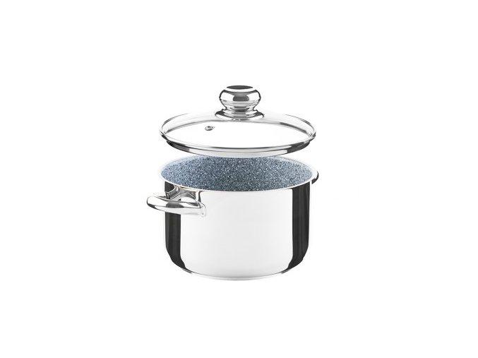 KOLIMAX CERAMMAX PRO STANDARD hrnec s poklicí 18cm 2,5l, granit šedá