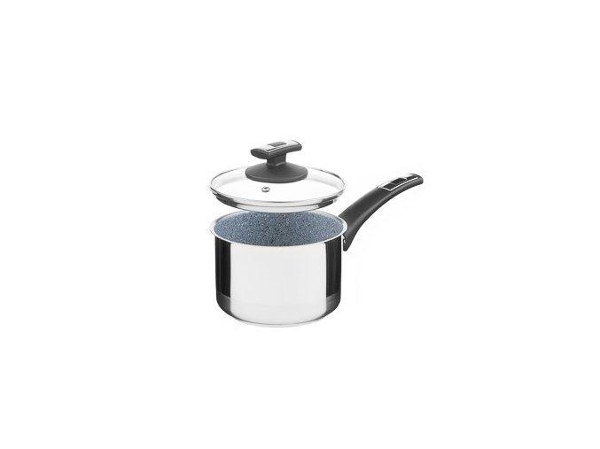 KOLIMAX CERAMMAX PRO COMFORT hrnec s rukojetí, s poklicí 15cm 1,5l, granit šedá