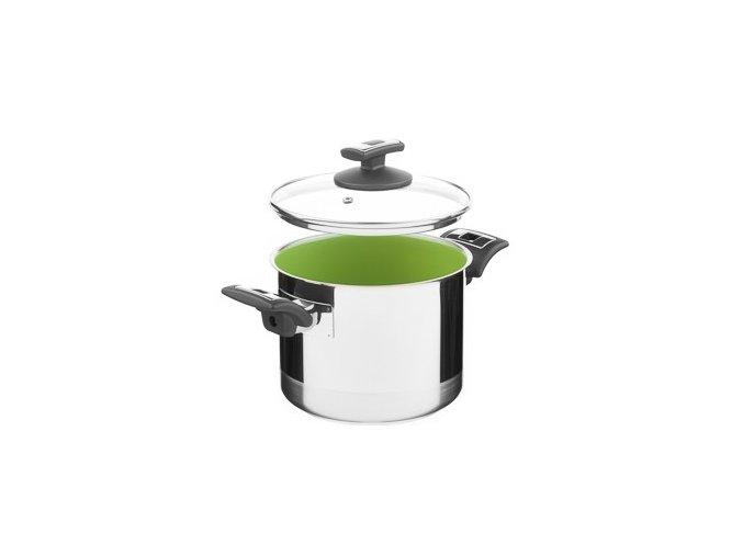 KOLIMAX CERAMMAX PRO COMFORT hrnec s poklicí 18cm 3,5l, zelená