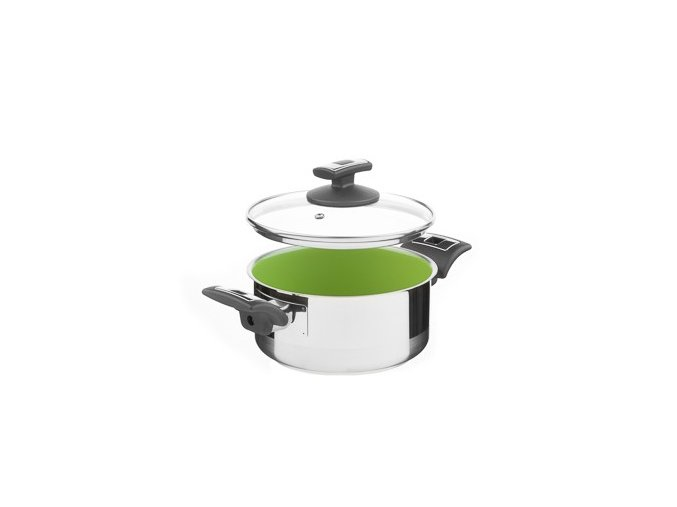 KOLIMAX CERAMMAX PRO COMFORT rendlík s poklicí 18cm 2,0l, zelená