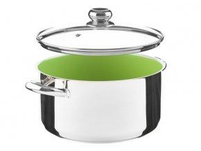 KOLIMAX CERAMMAX PRO STANDARD hrnec s poklicí 26cm 6,0l, zelená