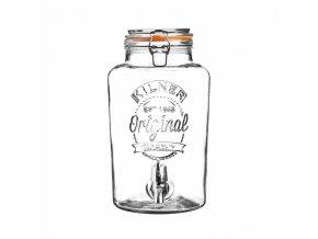 KILNER skleněný nápojový automat 8,0 l