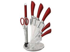 Sada nožů Burgundy Metallic Line