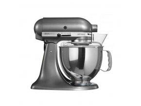 KitchenAid robot stříbřitě šedá